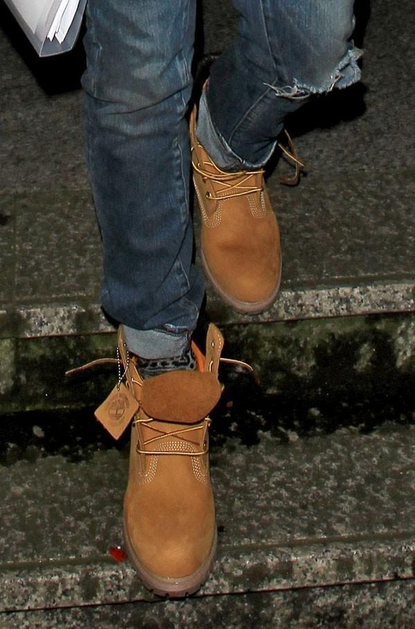 Garder une note de décontraction avec les boots Timberland !