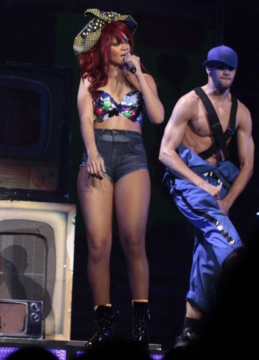 C'est chaud avec Rihanna !