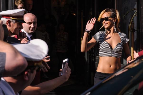 Rihanna à Vienne, le 9 juillet 2013.