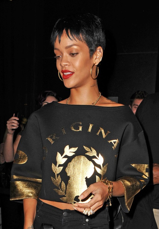 Rihanna à New York, le 1er octobre 2012.