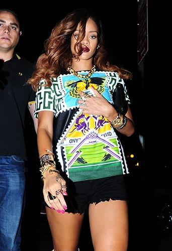 Rihanna à New-York le 30 avril 2013