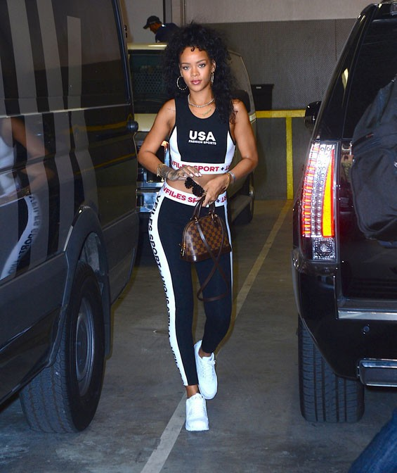 Rihanna à New-York le 9 juillet 2014