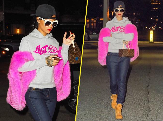 Rihanna le 5 novembre 2014
