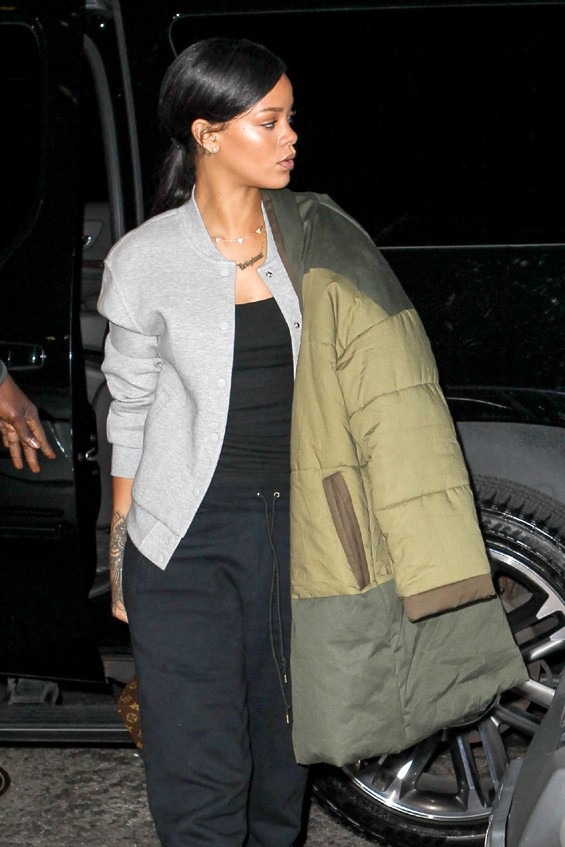 Rihanna à New-York le 4 novembre 2014