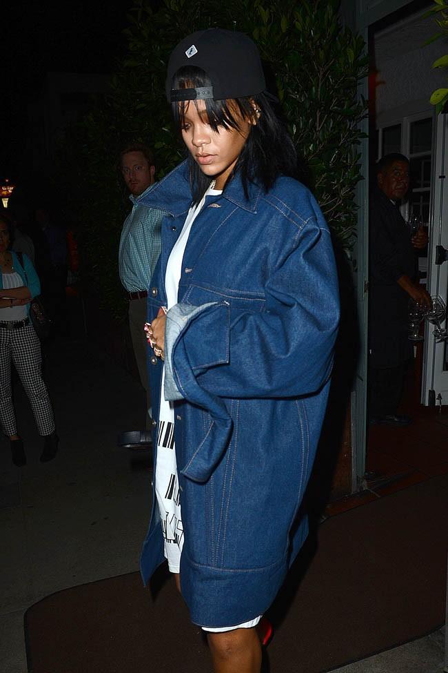 Rihanna à Santa Monica le 28 janvier 2015