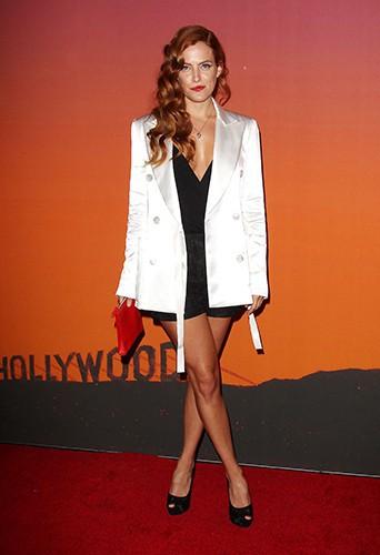 Riley Keough à New-York le 23 octobre 2013