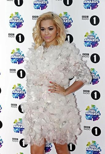 Rita Ora à Londres le 3 novembre 2013