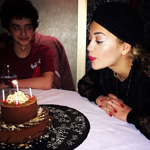 Rita Ora a fêté ses 23 ans.