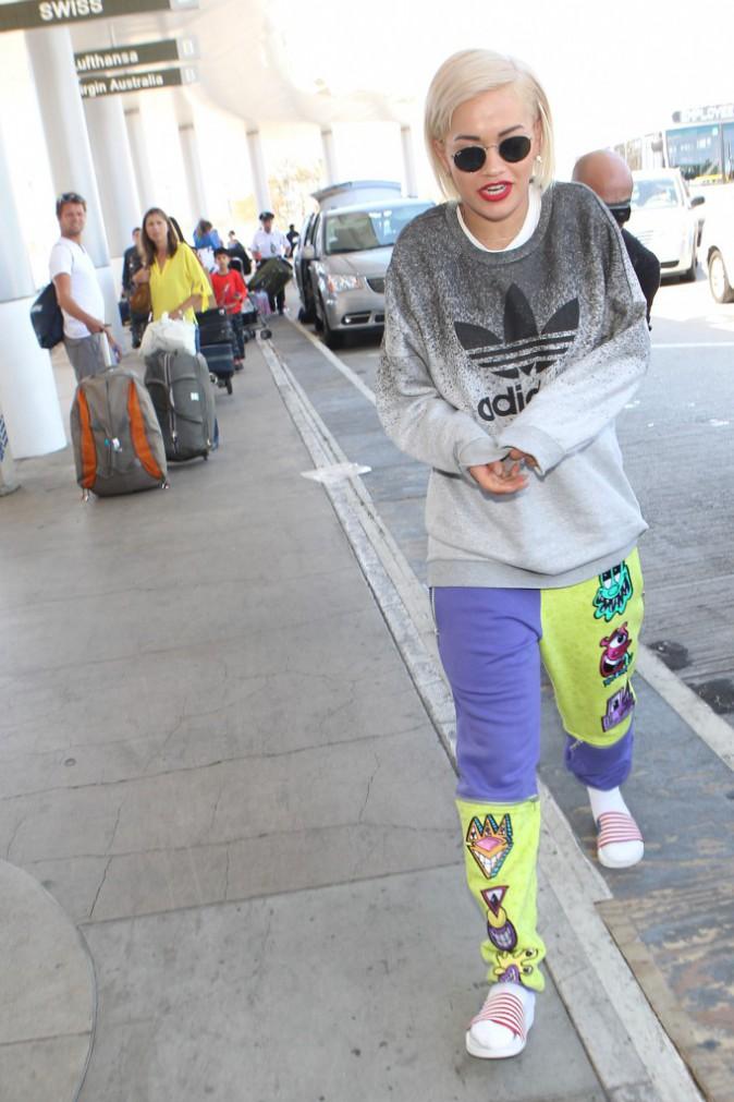 Photos : Rita Ora : elle confirme… Calvin Harris a bel et bien bloqué sa performance aux Teen Choice Awards !