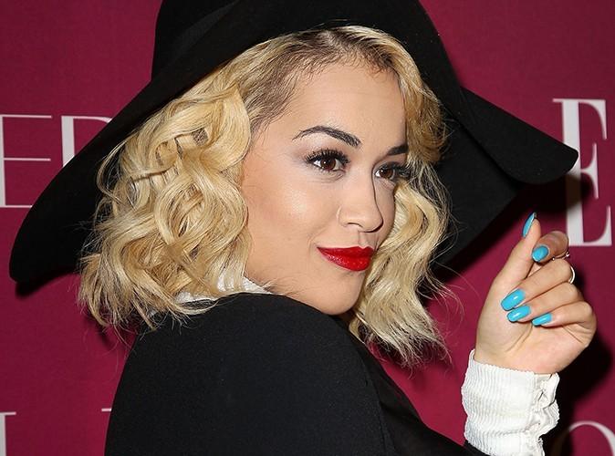 Rita Ora à New-York le 10 avril 2013