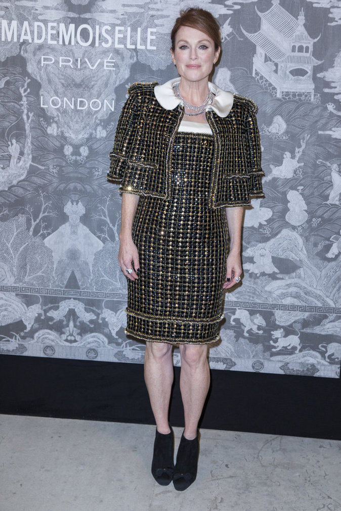 Julianne Moore le 12 octobre 2015