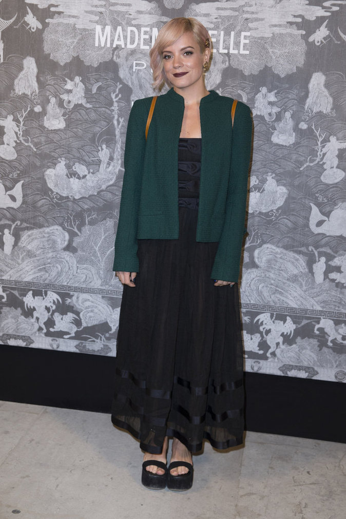 Lily Allen le 12 octobre 2015