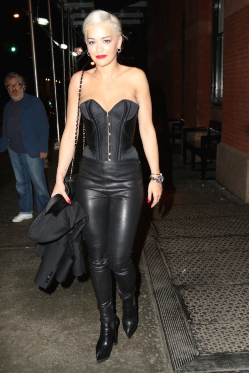Rita Ora à New-York le 5 mai 2015