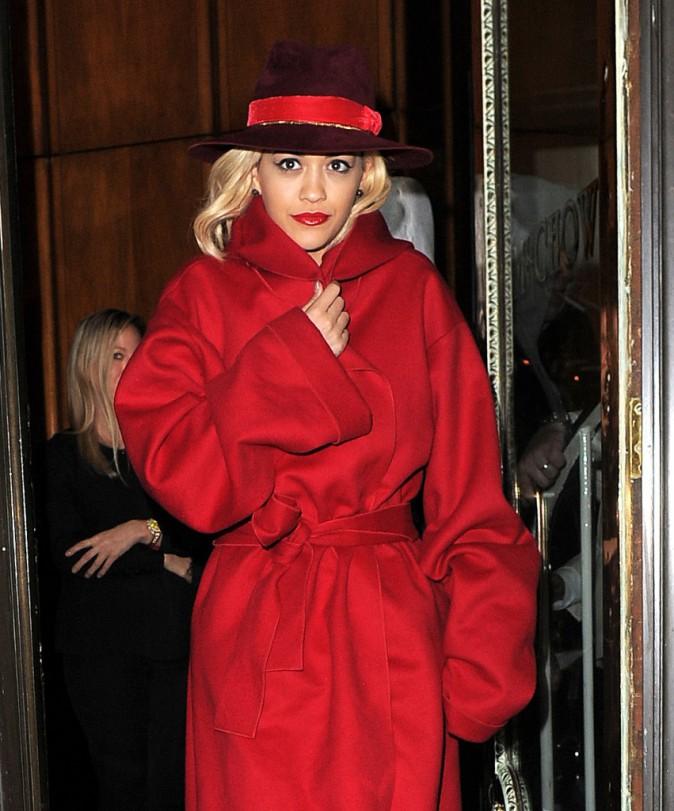 Rita Ora le 11 novembre 2014