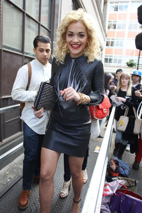 Rita Ora à Londres le 13 mai 2012 !