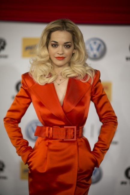 Rita Ora le 30 novembre 2012 en Allemagne