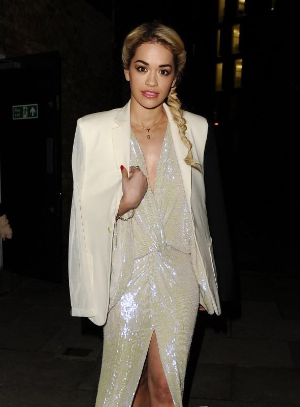 Rita Ora, Londres, 10 janvier 2013.