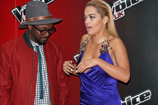 Rita Ora et Will.I.Am le 5 janvier 2015