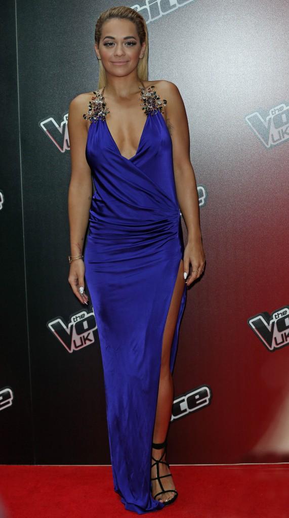 Rita Ora le 5 janvier 2015