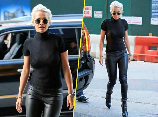 Photos : Rita Ora : toujours aussi sexy même en col roulé !