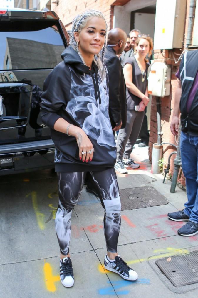 Photos : Rita Ora : une égérie Adidas grisonnante !