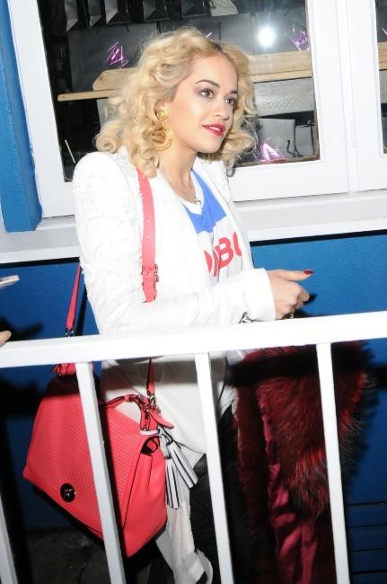 Rita Ora le 14 février 2013 à Londres
