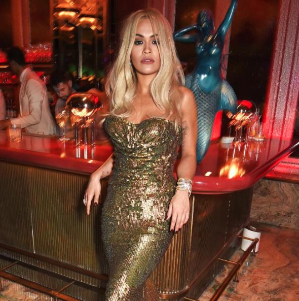 Rita Ora le 9 octobre 2015