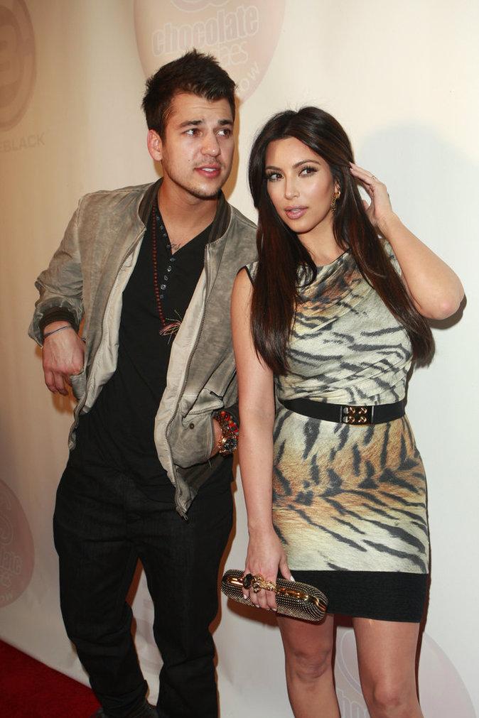 Rob et Kim Kardashian il y a quelques années