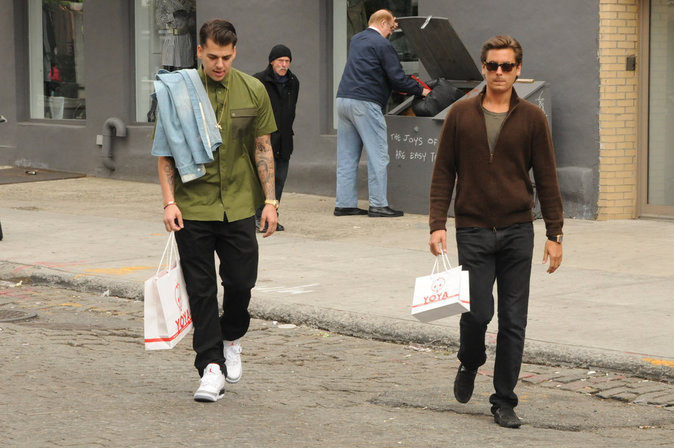 Rob et Scott Disick
