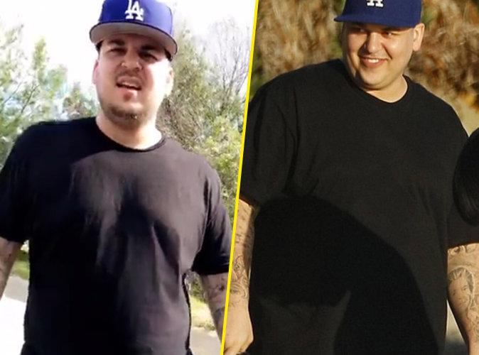 l'évolution physique de Rob Kardashian