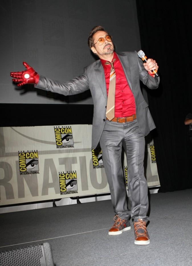 Le gant d'Iron Man !