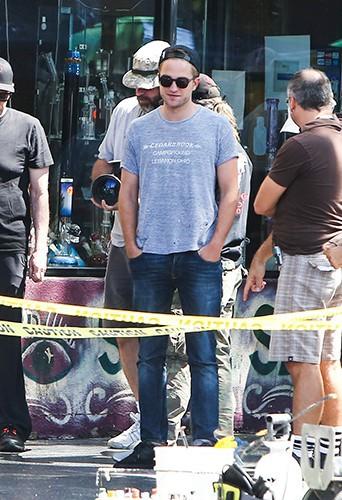 Robert Pattinson à Los Angeles le 20 août 2013