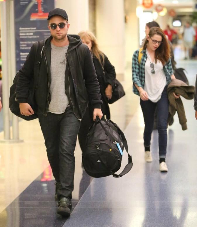 Robert Pattinson et Kristen Stewart le 26 novembre 2012 à Los Angeles