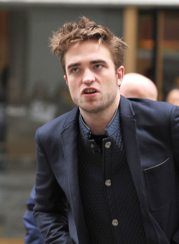 Robert Pattinson, New York, 8 novembre 2012