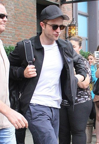 Robert Pattinson à New York le 19 juin 2014