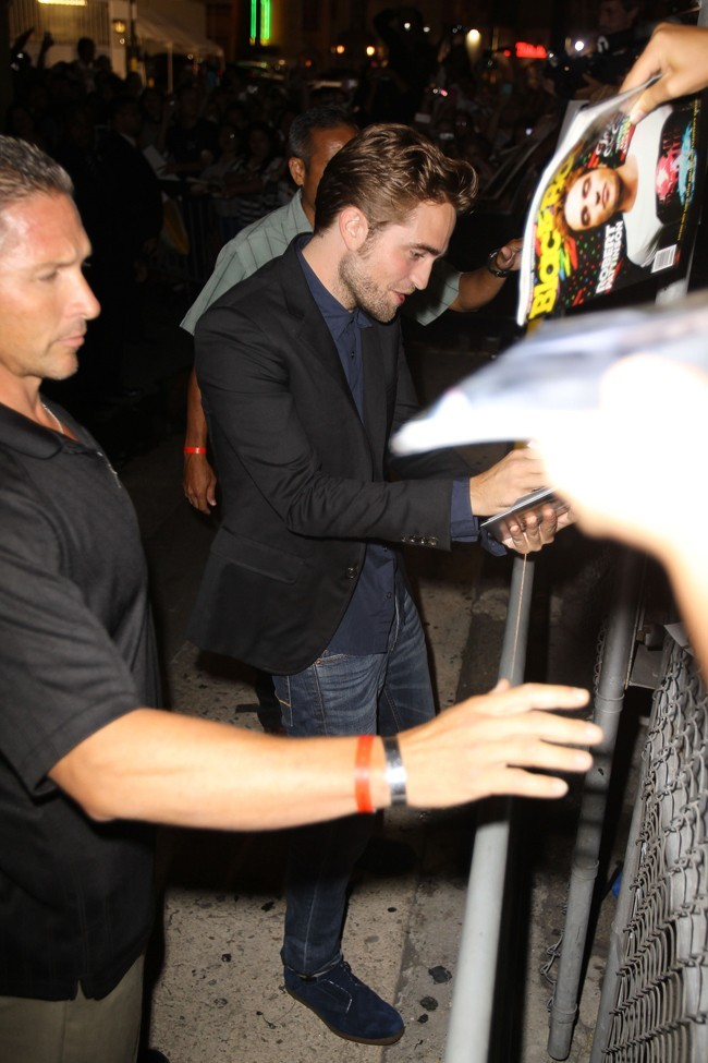 Robert Pattinson le 22 août 2012 à Los Angeles