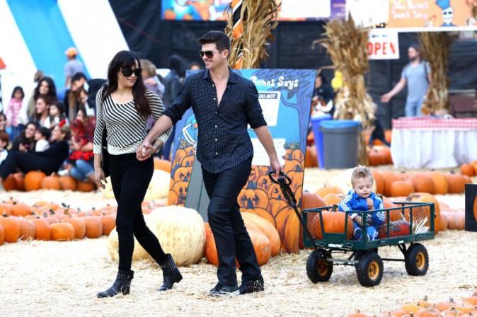 Robin Thicke et Paula Patton le 25 octobre 2013 !