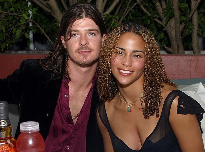 Robin Thicke et Paula Patton en 2002