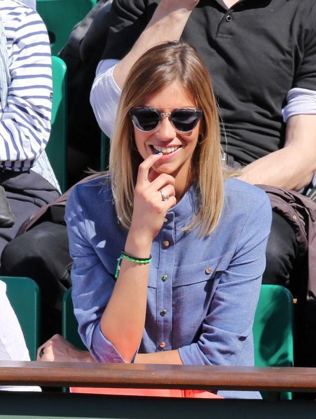 Alexandra Rosenfeld à Roland Garros le 4 juin 2013