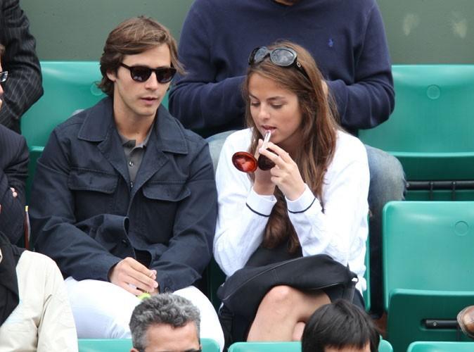 Roland Garros 2011 :  Anouchka Delon et Julien Dereims