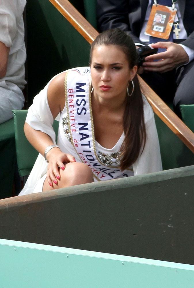 Roland Garros 2011 : Miss Nationale Barbara Morel était elle aussi présente