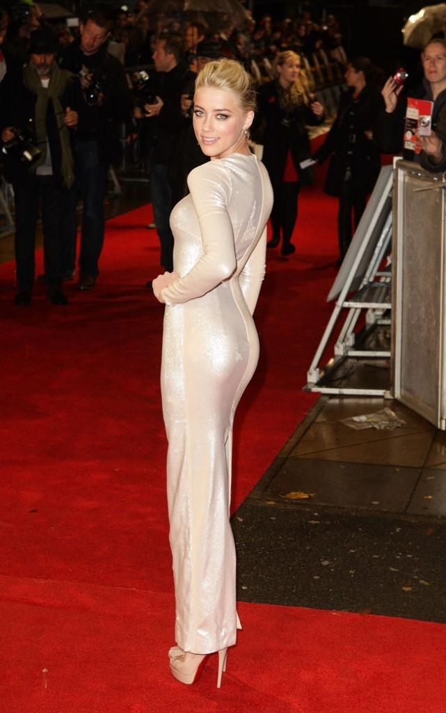Amber Heard, la blonde sait comment charmer...