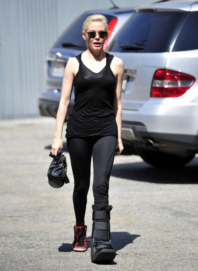 Rose McGowan, Los Angeles, 23 mars 2013.