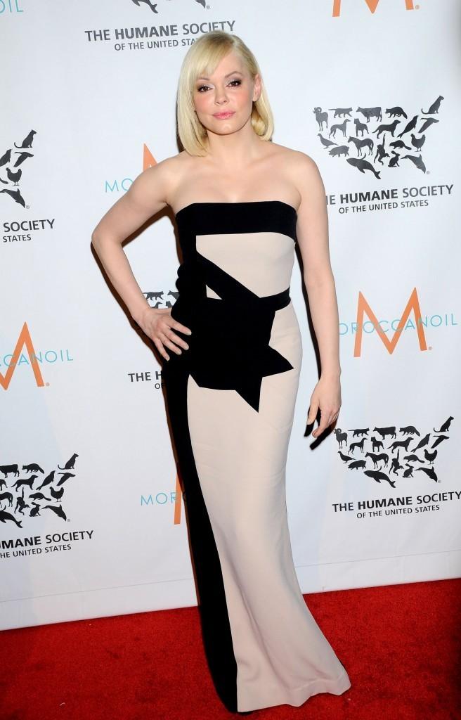 Rose McGowan, New York, 18 décembre 2012
