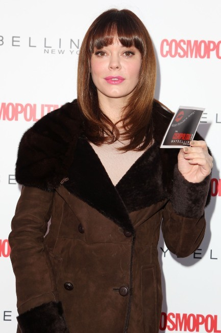 Rose McGowan, New York, 12 novembre 2012.