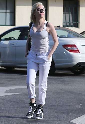 Rose McGowan à Hollywood le 4 mai 2013