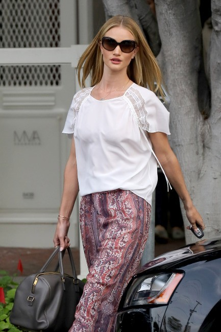 Rosie Huntington-Whiteley le 25 mars 2013 à Los Angeles