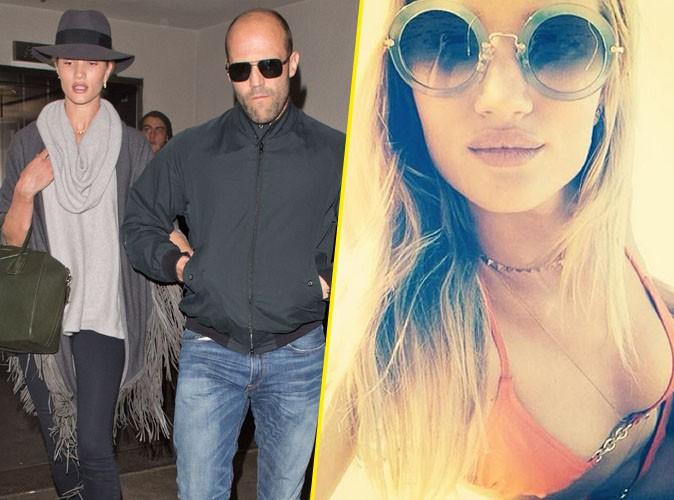 Rosie Huntington-Whiteley et Jason Statham : de retour à Los Angeles après des vacances de rêve à Hawaï !