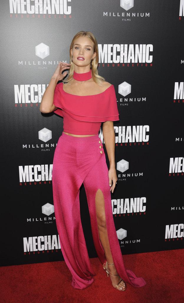 Photos : Rosie Huntington-Whiteley prête Jason Statham à... Jessica Alba !