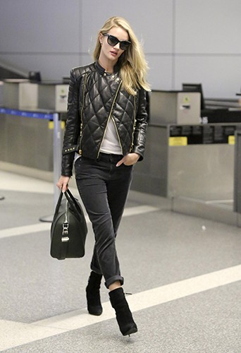 Rosie Huntington-Whiteley à Los Angeles le 18 octobre 2013
